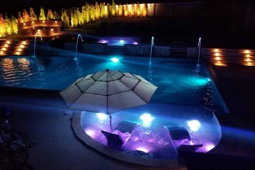 LED Pool Lighting Installation in Northern Virginia
