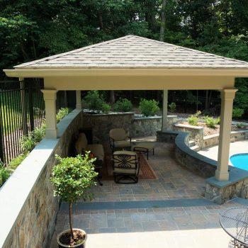 Northern Virginia Backyard Renovation With Pool