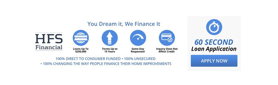 Featured Pool Financing Partner - HFS Financial