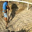 Pool Construction and installation of a shotcrete concrete pool