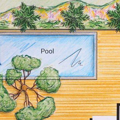 Pool Design from Crystal Blue Aquatics, Northern Virginia Pool Designers
